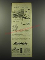 1957 Lentheric After Shave Stick Ad - as fresh as four a.m. for a.m.