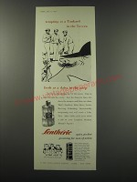 1957 Lentheric After Shave Stick Ad - tempting as a Tankard in the Tavern