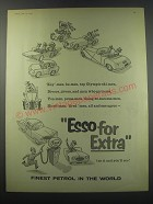 1957 Esso Oil Advertisement - for Extra