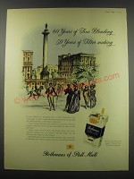 1957 Rothmans of Pall Mall Cigarettes Advertisement - 60 years of fine blending