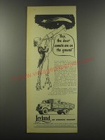 1957 Leyland Comet Truck Ad - Hey, the best comets are on the ground