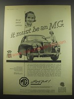 1957 MG Magnette Advertisement