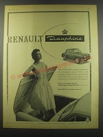 1957 Renault Dauphine Ad - Renault Dauphine
