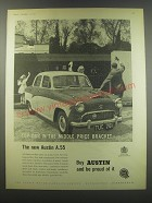 1957 Austin A.55 Ad - Top car in the middle price bracket