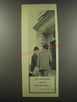 1957 Westminster Bank Ad - You should bank with the Westminster too