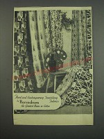 1957 Horrockses Fabrics Ad - Floral and contemporary furnishing fabrics