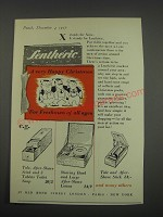 1957 Lentheric Coffrets and Christmas packs Ad - A very Happy Christmas