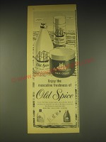 1962 Old Spice Products Ad - Enjoy the masculine freshness of Old Spice