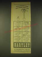 1962 Hartley Glasshouses Ad - The Glasshouse range that covers every need