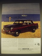 1962 Austin A110 Car Ad - This man gets high power but not at any price
