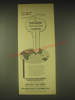 1962 HSBC Ad - Key to Eastern Trade