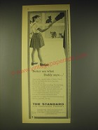 1962 The Standard Life Assurance Company Ad - Better see what Daddy says