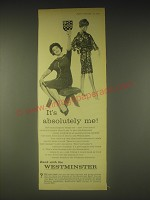 1962 Westminster Bank Ad - It's absolutely me