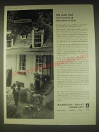 1962 Bankers Trust Company Ad - Old books find new readers at Scarsdale, U.S.A.