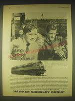 1962 Hawker Siddeley Group Ad - New challenge for British train spotters