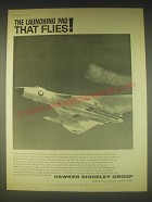 1962 Hawker Siddeley Avro Vulcan Bomber Ad - The launching pad that flies
