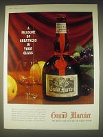 1962 Grand Marnier Liqueur Ad - A measure of greatness in your glass