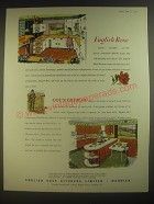 1960 English Rose Kitchens Limited Ad - English Rose Countryman