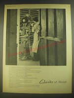 1958 Clarks Shoes Ad - Clarks of Street