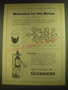 1958 Guinness Beer Ad - Molecules for the Million