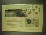 1955 Smiths A.358 and B.310 Watches Ad - Double proof test in Blue Ice
