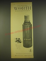 1963 Les Parfums Worth Je Reviens Perfume Advertisement