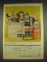 1963 Continental Can Company Ad - Many companies work with metal
