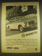 1963 MG Magnette Car Ad - Look! They've got an MG