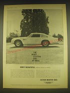1963 Aston Martin DB5 Car Ad - The most exciting car of 1964! Body Beautiful