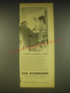 1963 The Standard Life Assurance Ad - a man's a man for a that