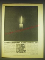 1963 Hawker Siddeley Ad - Power cut! (What happens to our early warning now?)
