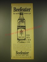 1963 Beefeater Gin Ad - Beefeater the world famous gin