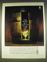 1963 Booth's Gin Ad - Only Booth's gin is mellowed in oak casks
