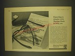 1963 Martins Bank Ad - Exporting is simpler with Martins Bank to help you
