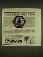 1963 Colorado Division of Commerce and Development Ad - Industrial Colorado
