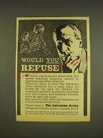 1963 The Salvation Army Ad - Would you refuse