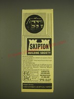 1963 Skipton Building Society Ad - Skipton Building Society Mortgages