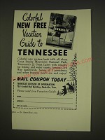 1963 Tennessee Tourism Advertisement