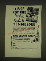 1963 Tennessee Tourism Ad