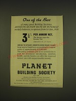 1955 Planet Building Society Ad - One of the best