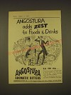 1955 Angostura Aromatic Bitters Advertisement