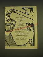 1955 Seagers Gin Ad - Have a gimlet