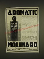 1932 Molinard Aromatic Perfume Ad -  in French - Aromatic