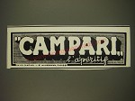 1932 Campari Liqueur Ad - in French - Campari l'aperitif