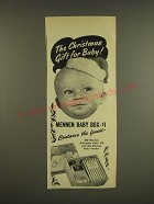 1945 Mennen Baby Box Ad - The Christmas gift for baby