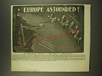 1901 McCormick Harvesting Machine Co. Ad - Europe Astounded