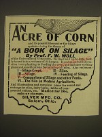 1900 Silver Mfg. Ad - An Acre of Corn