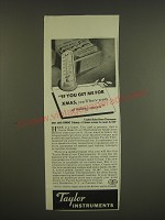 1939 Taylor Bake Oven Thermometer Ad - If you get me for Xmas, you'll have