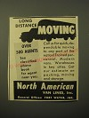 1948 North American Van Lines Ad - Long distance moving