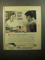 1950 Oneida 1881 Rogers Brookwood Silverware Advertisement